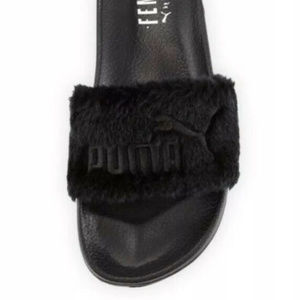 Puma x Fenty by Rihanna Blk Slides